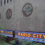 radio city NBC in New York City, New York, United States