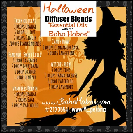 Halloween Diffuser Recipes 2015