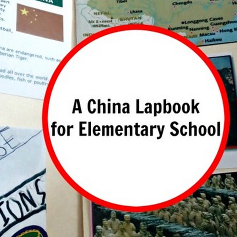China Lapbook–Second Grade