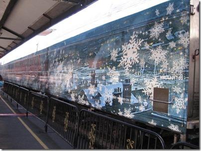 IMG_7627 Christmas Carol Train Car MRLX #801103 at Union Station in Portland, Oregon on July 1, 2009