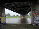 Langs Amsterdam-Rijnkanaal.