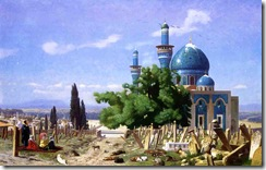 JEAN-LÉON-GÉRÔME-CEMETERY-GONE-TO-SEED-AKA-THE-GREEN-MOSQUE-