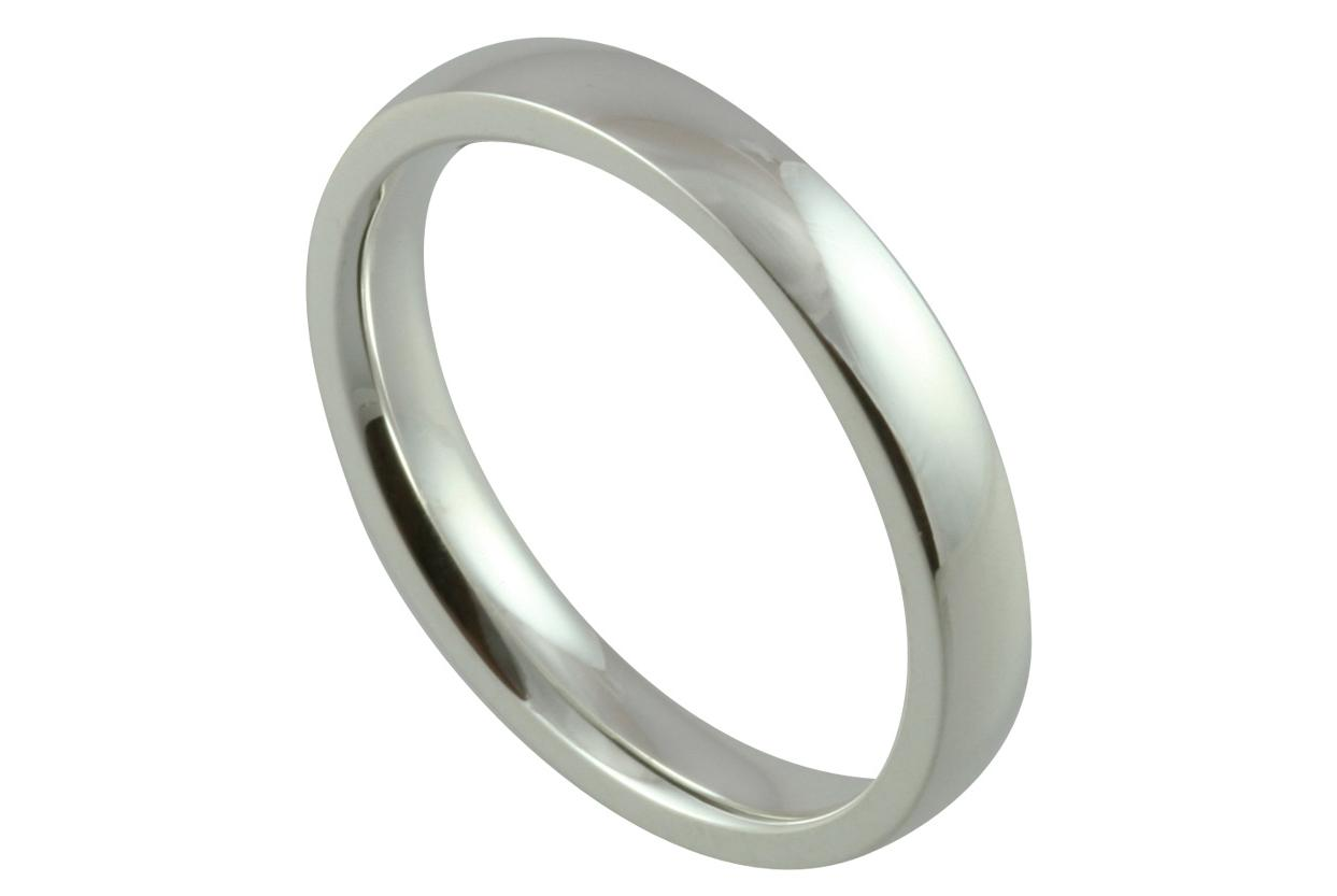 Modern Court Wedding Ring