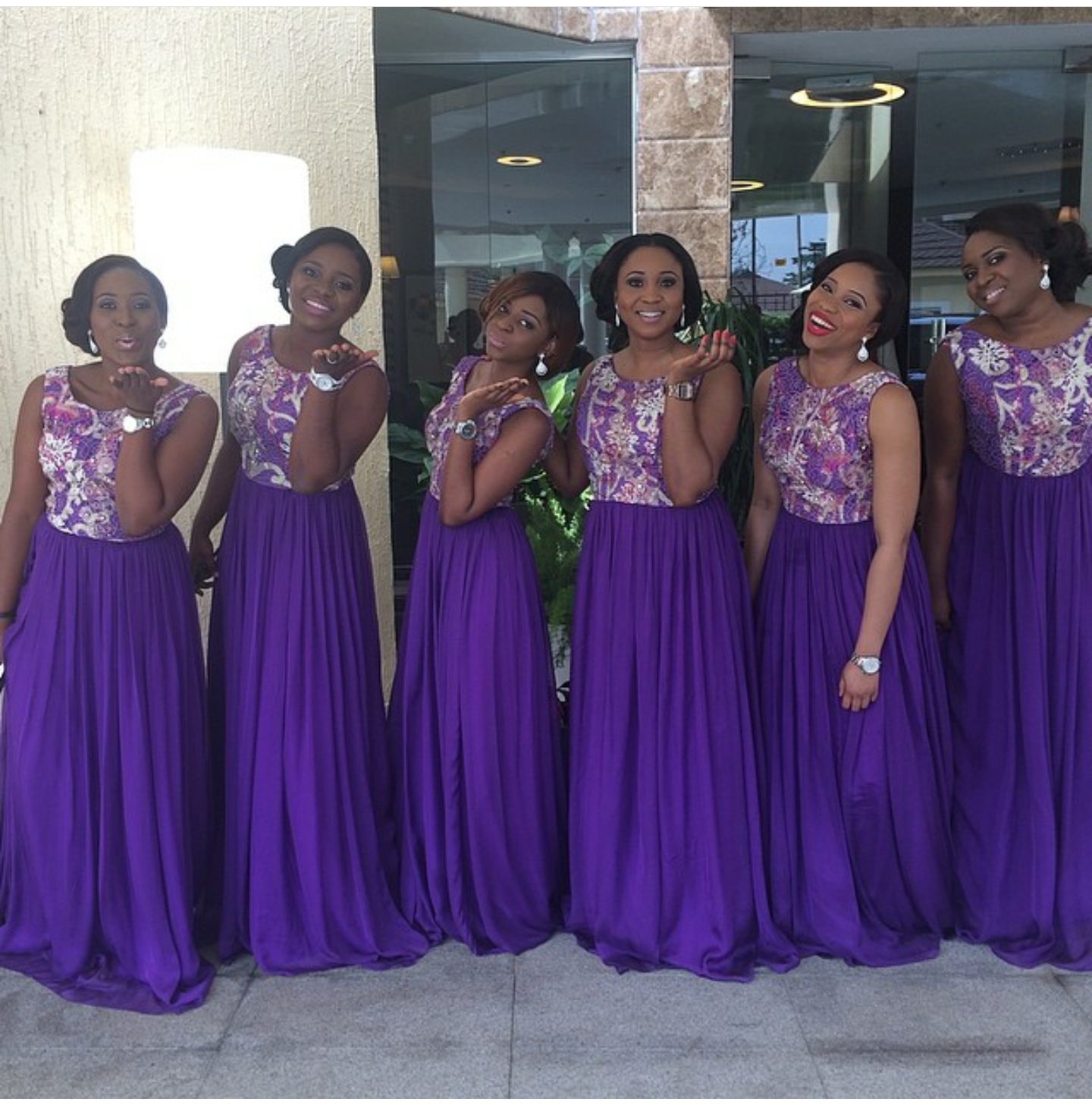 9 Gorgeous bridesmaid dresses from Nigerian label Peridot & Ruby ...