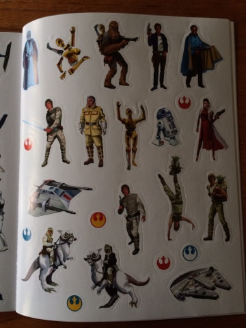 The Empire Strikes Back Activity Book
