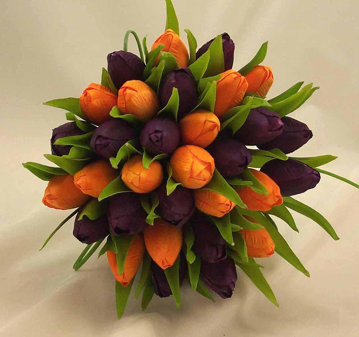 purple-orange-tulip-wedding-