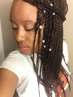 Crochet Braids: Senegalese Twists With Perimeter Using Freetress Braid ...