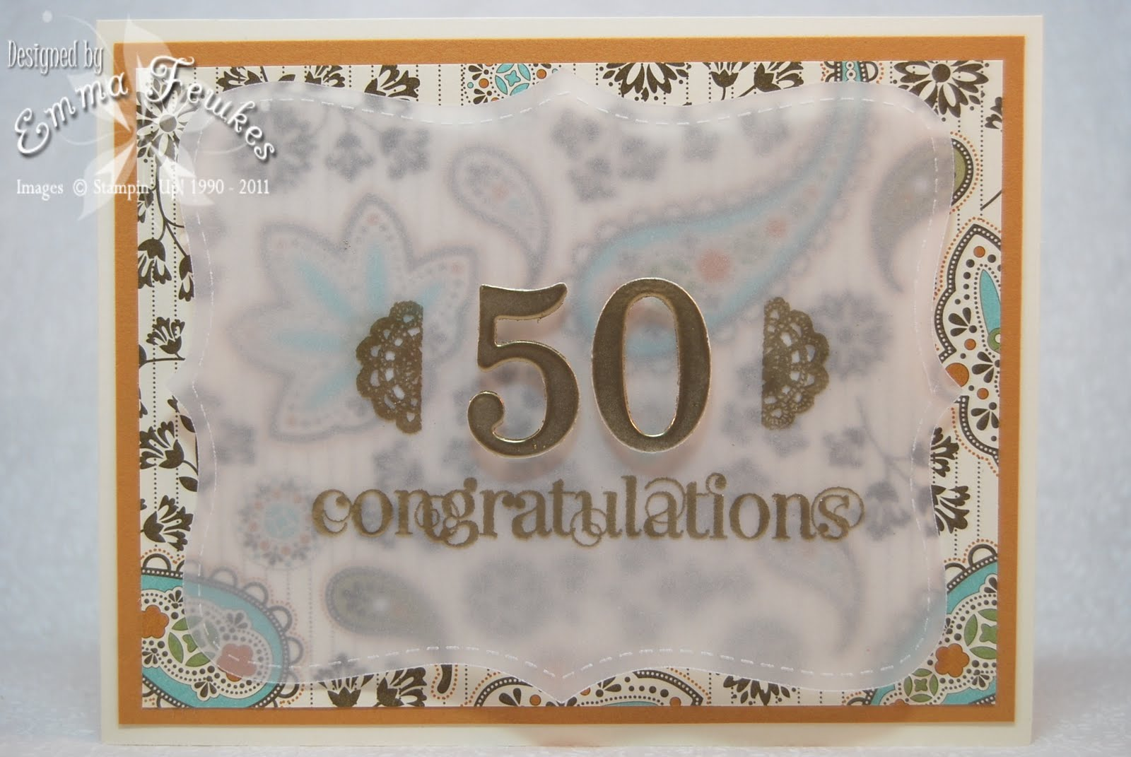 Ive made this 50th Wedding