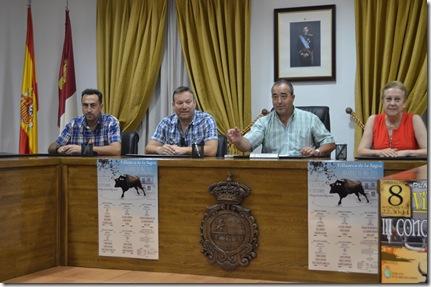 Presentación Carteles del XVI Alfarero de Oro 2015 Villaseca
