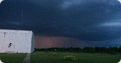 Evening storm 07192015