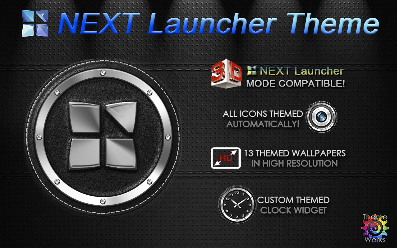 Next Launcher 3D Theme Bespoke Screenshot 8