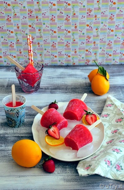 How to Make Strawberry Lemonade Pops with Video Tutorial   http://uTry.it