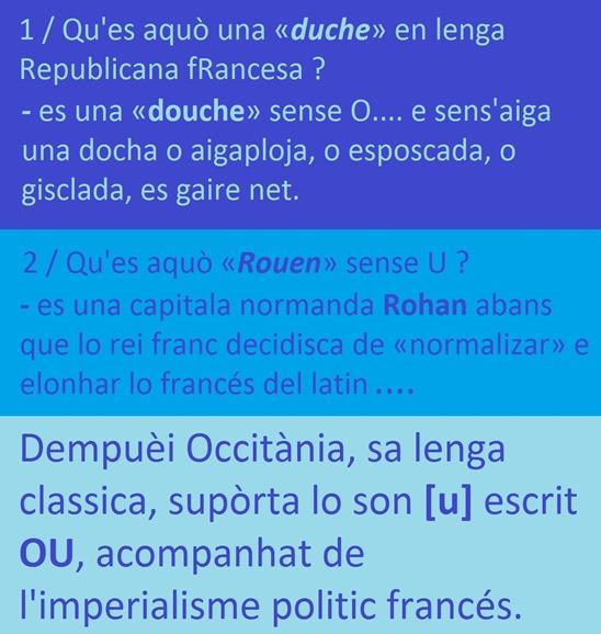 Rohan Rouen grafia e nòrma francesa