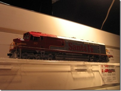 IMG_0665 HO-Scale Atchison, Topeka & Santa Fe FP45 by Athearn Genesis at the WGH Show in Puyallup, Washington on November 21, 2009
