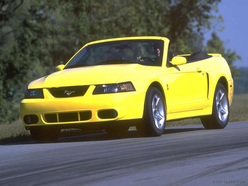 2003 ford mustang svt cobra specifications pictures prices. Black Bedroom Furniture Sets. Home Design Ideas
