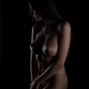 Nikolart by Reto Heiz - Nudes & Boudoir Artistic Nude ( studio, nude, nudeart, female nude, lowkey )