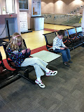 Waiting in the Champaign IL Amtrak station to go to Chicago 01142012