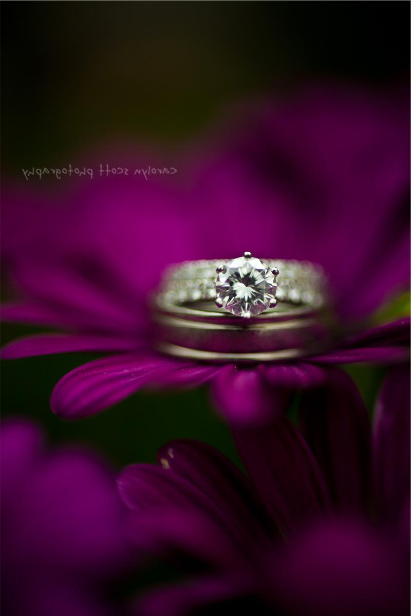 purple and green weddings