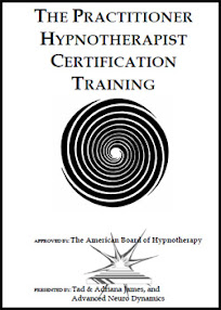 Cover of Tad James's Book Hypnosis Practitioner Manual
