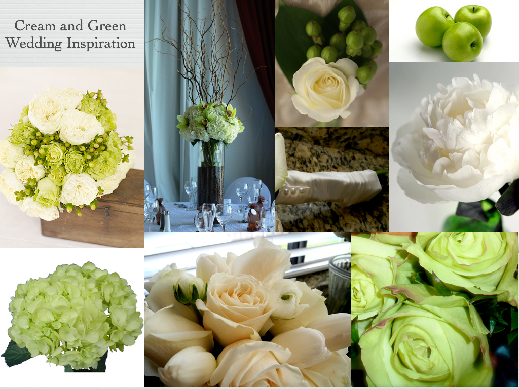 wedding is apple green and