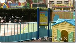 立柱式遊戲場安全告示牌