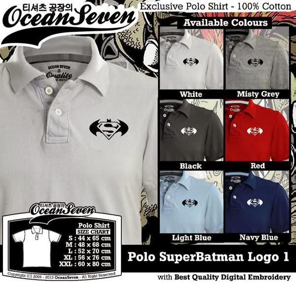 POLO SuperBatman Logo distro ocean seven