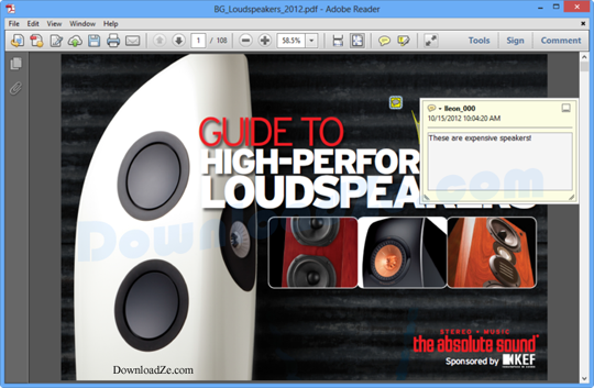 Adobe Acrobat Reader XI 11.0.10