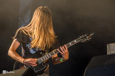 Elder au Hellfest 2015