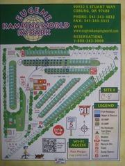 Eugene Kamping World RV Park, OR (1)