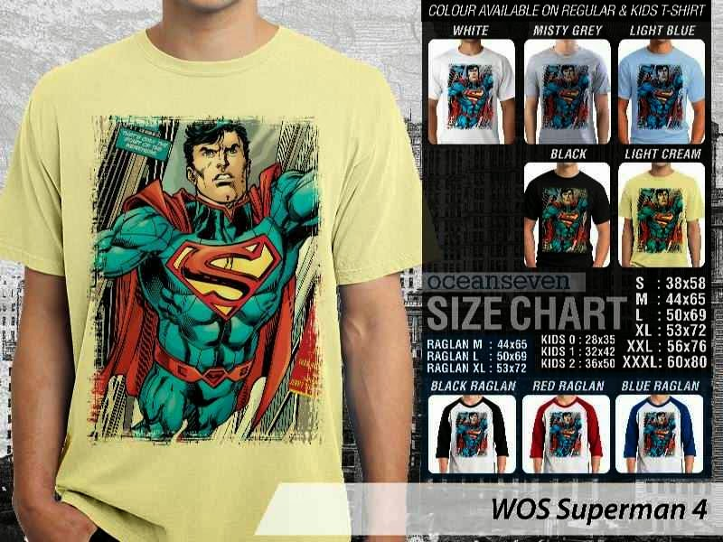 KAOS superman 4 Movie Series distro ocean seven