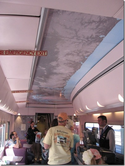 IMG_2794 Amtrak Cascades Talgo Pendular Series VI Bistro Car Interior at Union Station in Portland, Oregon on May 8, 2010