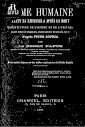 L'ame Humaine Avant la Naissance et Apres la Mort (1898,in French)