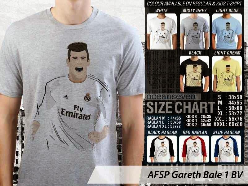 Kaos Bola Gareth Bale 1 Gareth Bale distro ocean seven