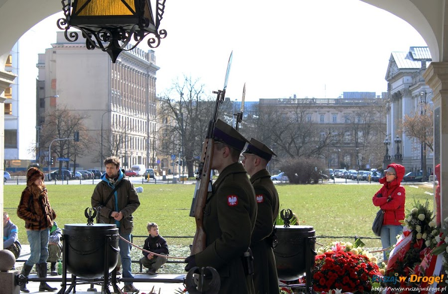 Warszawa grób Nieznanego Żołnierza