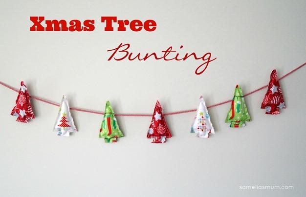 Xmas Tree Bunting Main