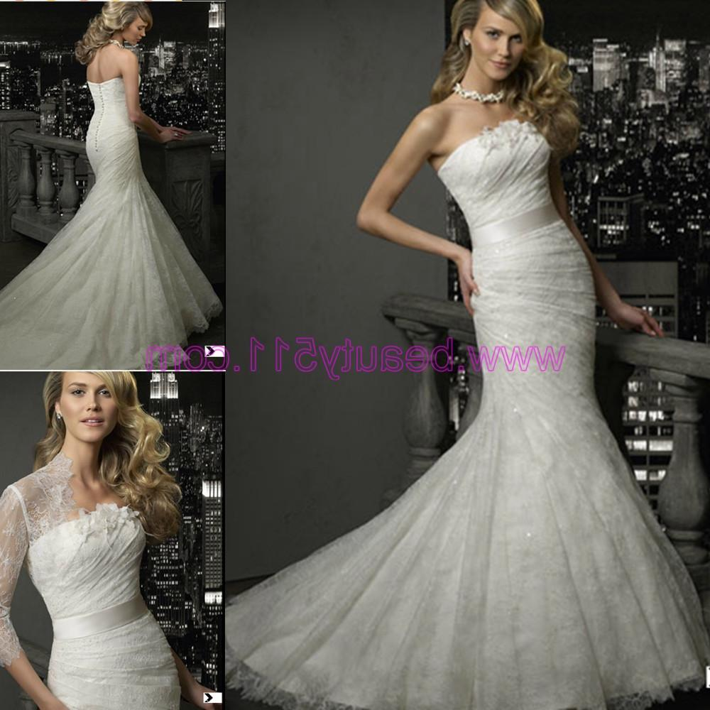 2012 Lace Wedding Dress  ZS097