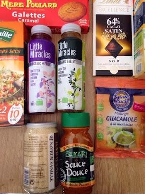 Partenaire: Degustabox - Box Avril - contenu, test et avis