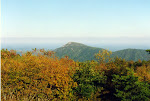 View of Old Rag Mountain, Shenandoah National Park in Virginia.