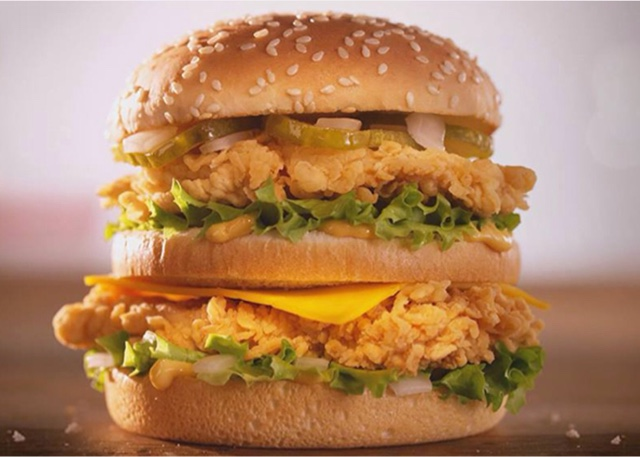 KFC Big Boss Sandwich