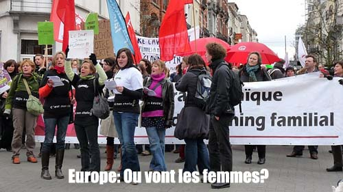 Dok�d zmierzasz, Europejko / Europe: Ou vont les femmes? (2011) PL.TVRip.XviD / Lektor PL
