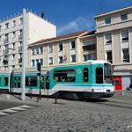 Place Jean Grandel : tram