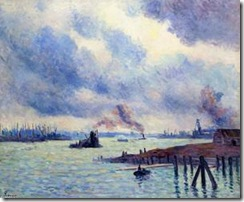 Maximilien-Luce-The-Port-of-Rotterdam-S