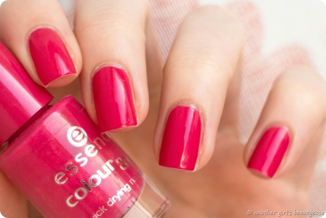 LFB Magenta Fuchsia essence i want that swatch hot pink