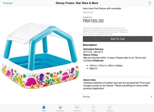 pool kanak-kanak yang murah dari oversea