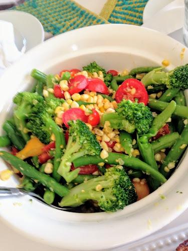 Sautéed vegetables from garden