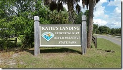 Katie's Landing entrance