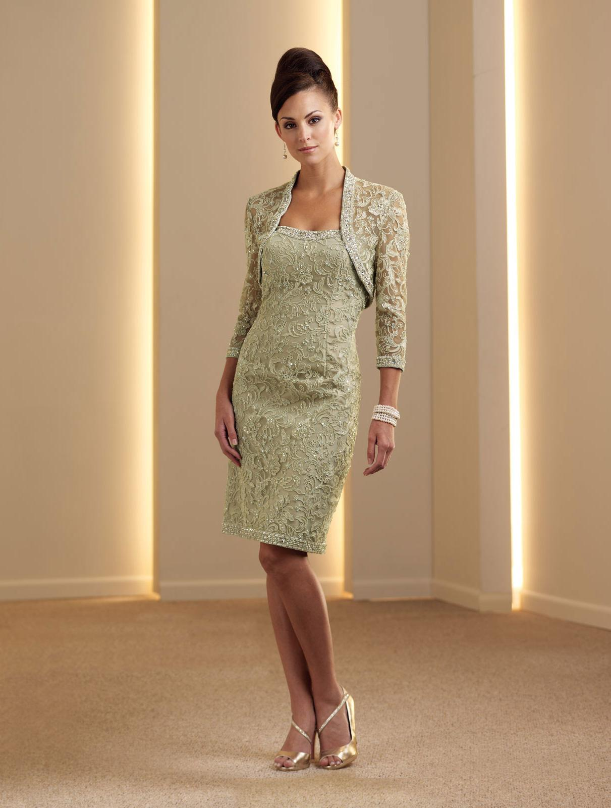 Beaded Lace Mother Dress 8770