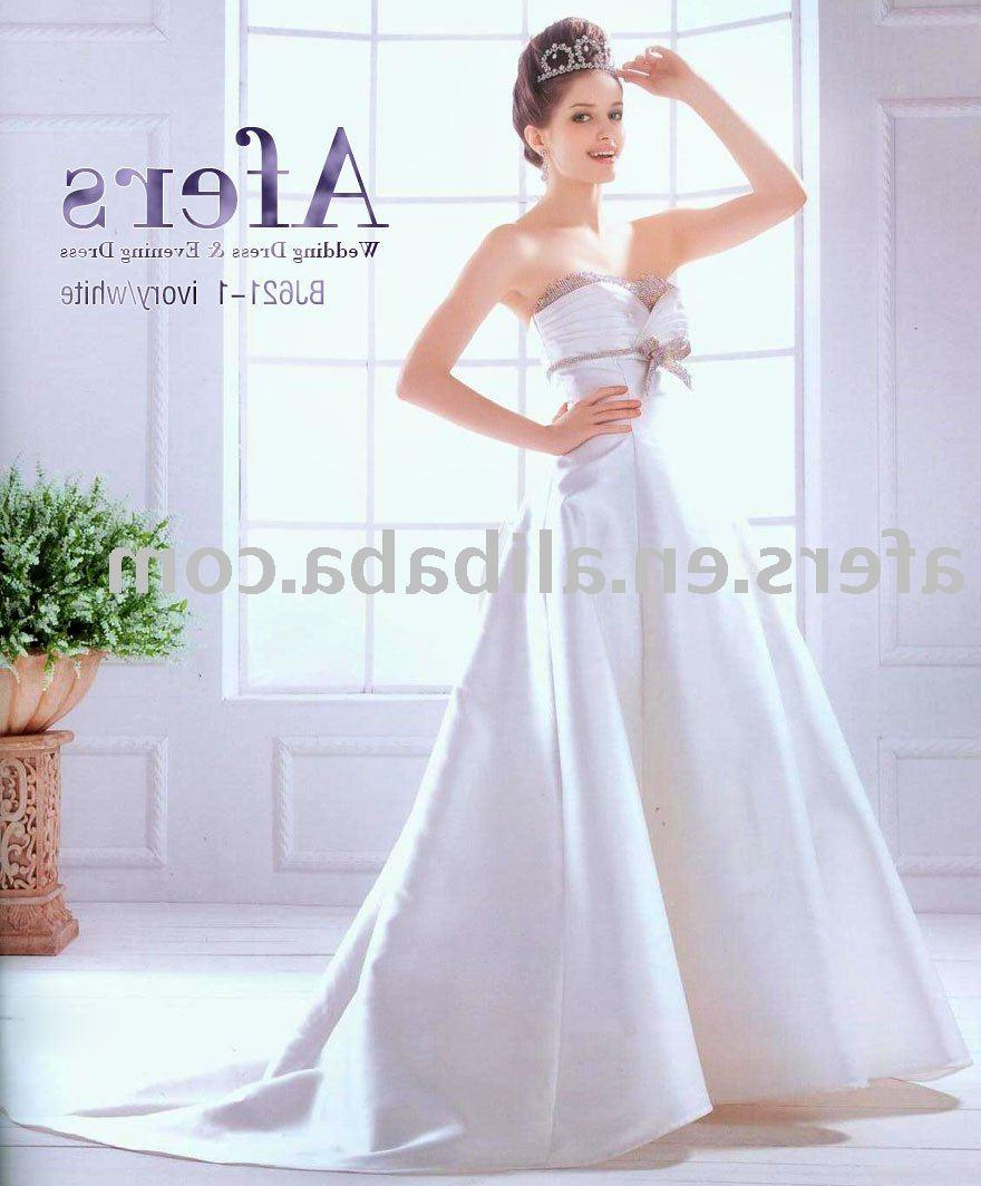 See larger image: Luxury wedding dress,bridal dress,wedding gown NO.BJ621-1