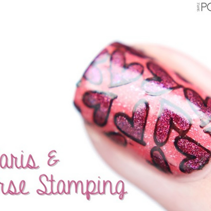 [Nail Art] Picture Polish–Paris & Stamping