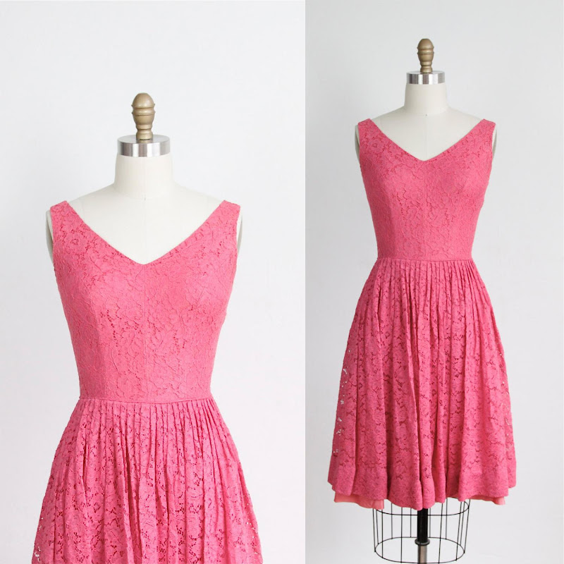 ON LOAN Bubblegum Pink Lace title=